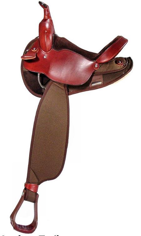 האופנה האופנתית אוכף חצי קורדורה חצאית עגולה FABTRON | בשביל הרוכבים - ציוד רכיבה LU-37